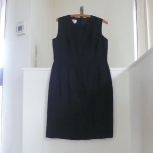 NWT Talbots Black Linen Dress